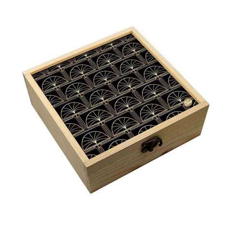Jewellery Box Wooden Jewelry Organizer -  Palms
