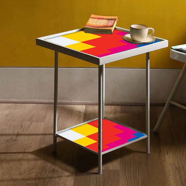 Yellow Metal Side Table Online