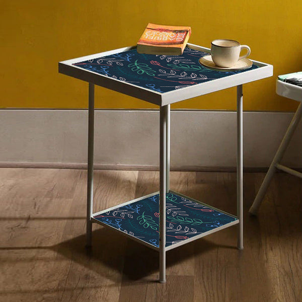 Black Metal Side Table Online in India