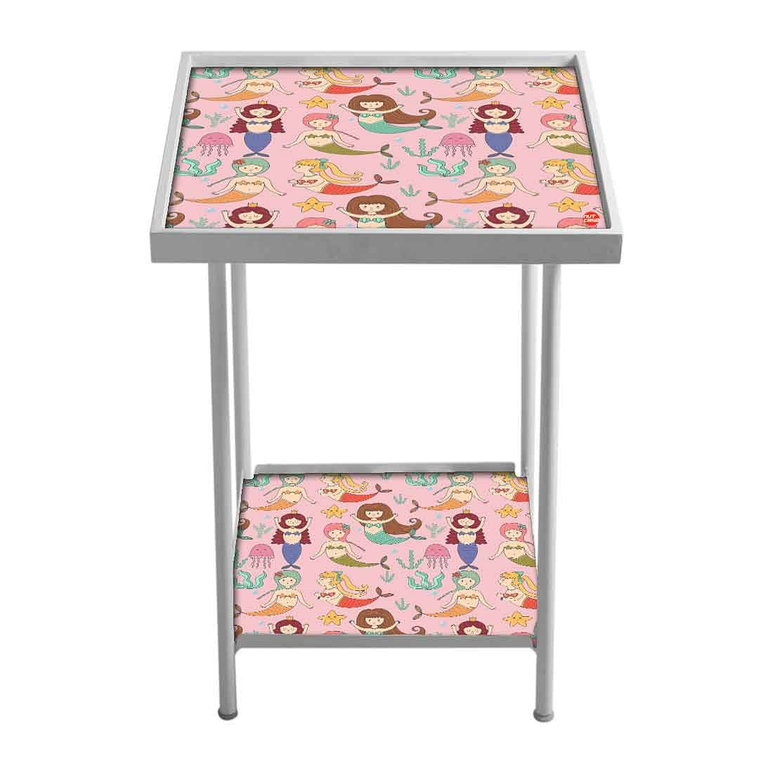 Patio Table For Balcony Outdoor - Jellyfish Pink