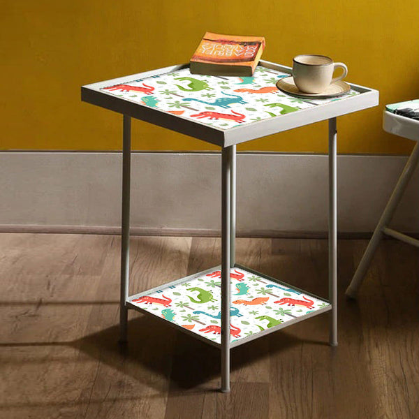 Kids Metal White Side Table Online in India