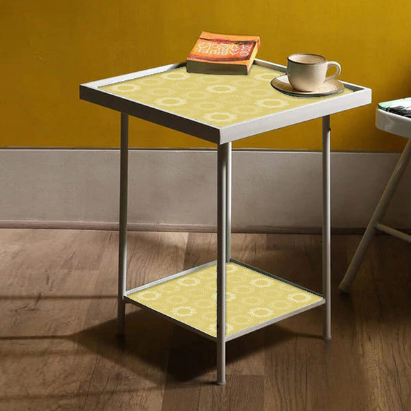 Metal White Side Table Online in India
