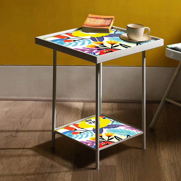 Floral Metal Side Table Online