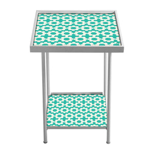 Designer Square Metal Side Table