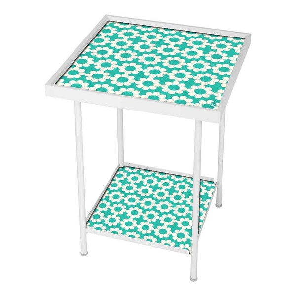 Designer Square Metal Side Table Online in India