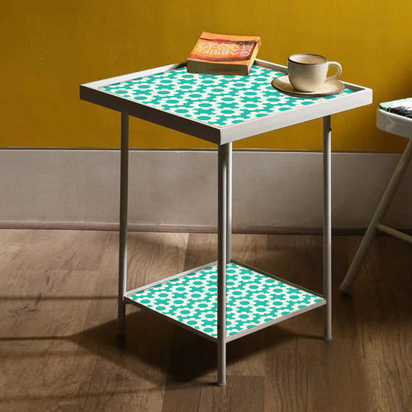 Designer Square Metal Side Table Online
