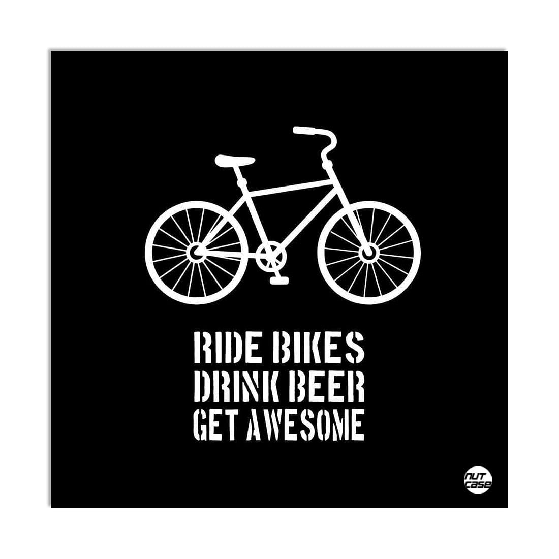 Wall Art Decor Panel For Home - Ride Bikes