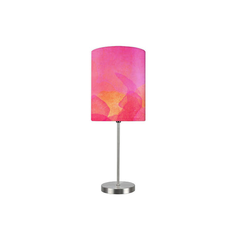 Kids Room Night Lamp - Pink Watercolor