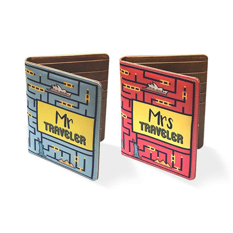 Couple Passport Cover Holders