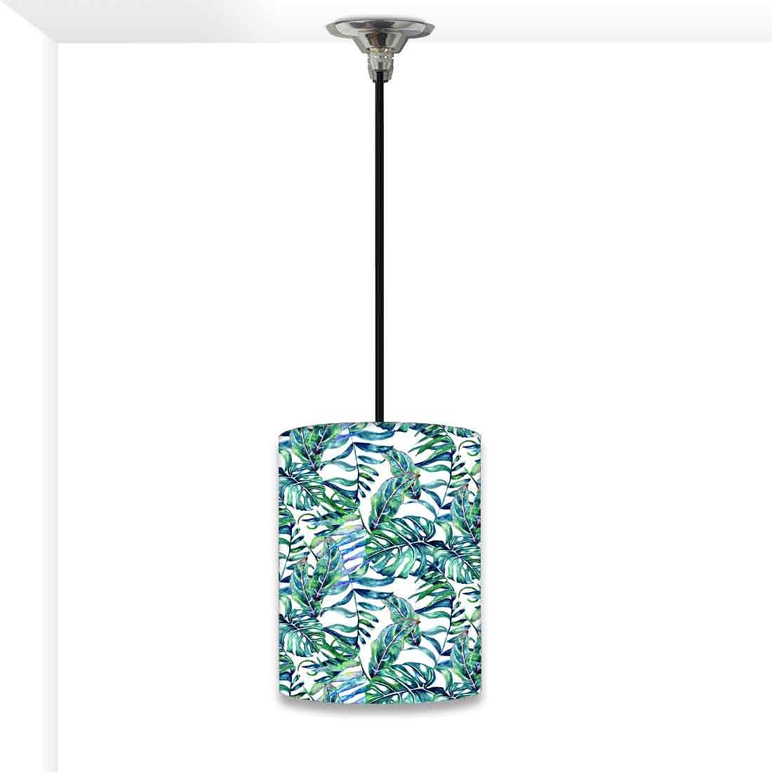 Ceiling Hanging Pendant Lamp Shade - Tropical Leaf