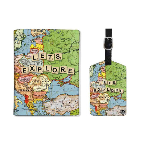Passport holder cover luggage baggage tag