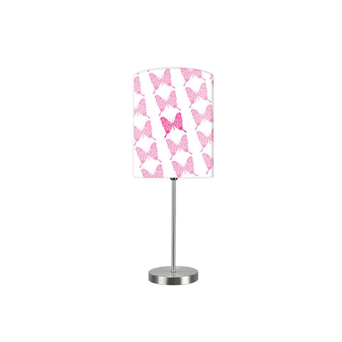 Kids Room Night Lamp - Pink Butterfly