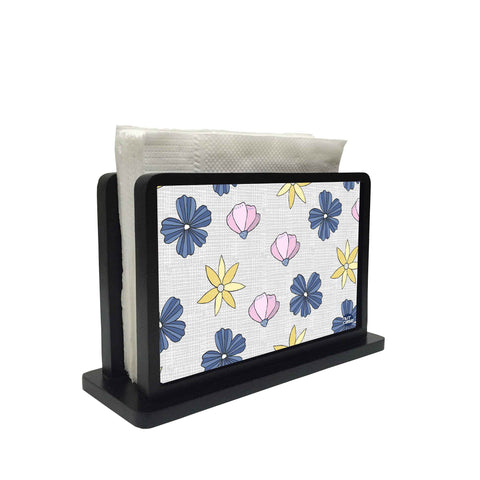 Tissue Holder Paper Napkin Stand -  FLOWER PETALS