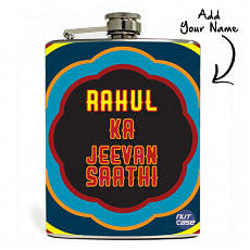 Customised Hip Flask  - Add Your Name