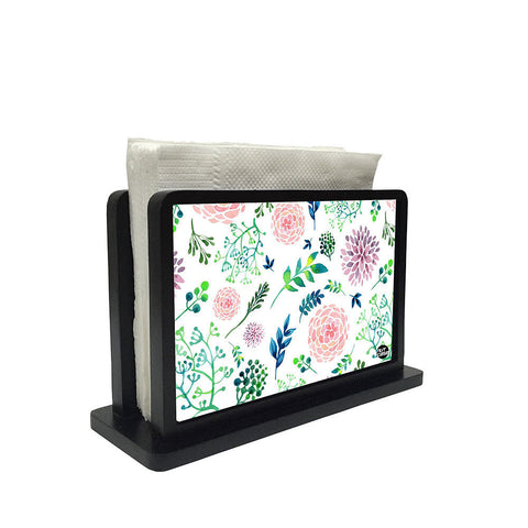 Tissue Holder Paper Napkin Stand - Cute Flowers