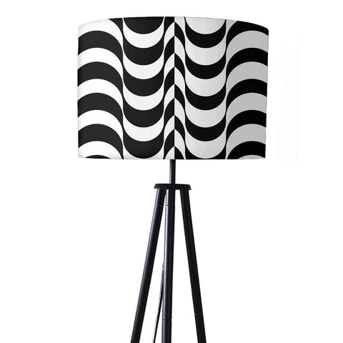 Tripod Floor Lamp Standing Light for Bedroom