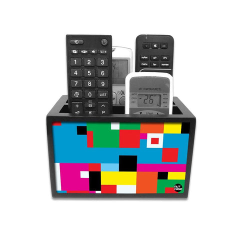 Remote Control Stand Holder Organizer For TV / AC Remotes -  Colorful Box