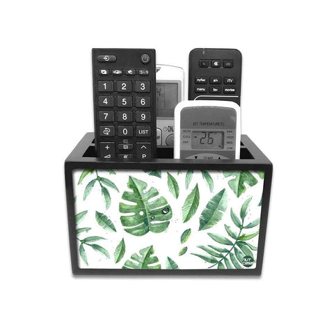 Remote Control Stand Holder Organizer For TV / AC Remotes -  Happy Leaves