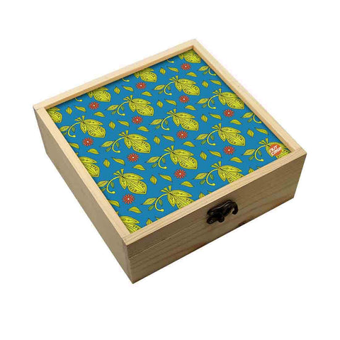 Jewellery Box Wooden Jewelry Organizer -  Floral Spring Collection