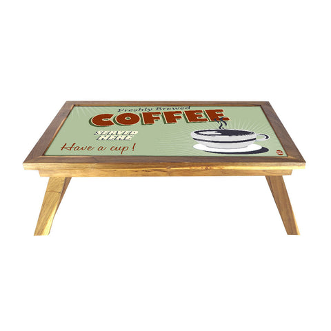 Folding Laptop Table For Bed Breakfast Tables -Coffee Love