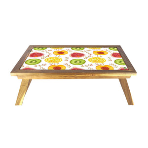 Folding Laptop Table For Bed Breakfast Tables -Citrus