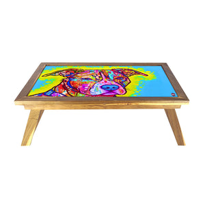 Folding Breakfast Bed Table Lapdesk For Home