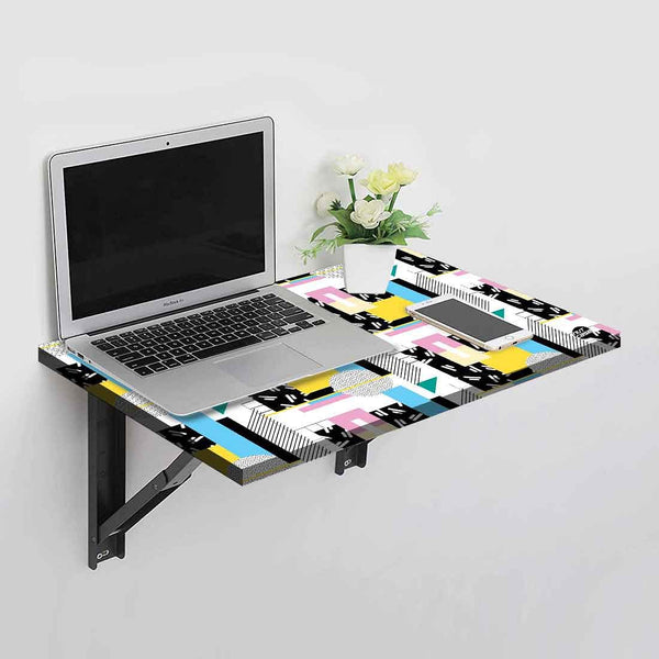 Wall Mounted Folding Study Table Desk - Abstract