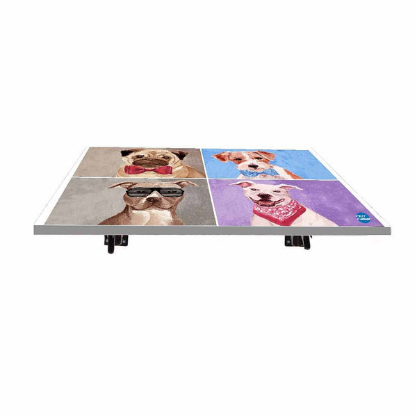 Buy foldable wall attached table Online India