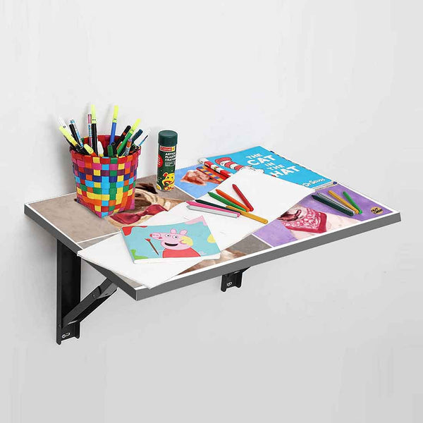Wall Mounted Folding Study Table -  Sweet Dogs