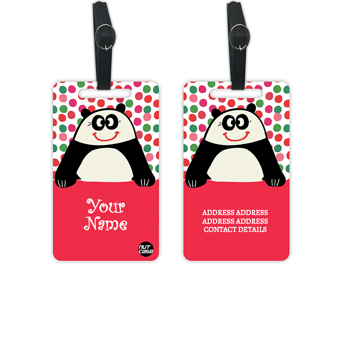 Customized Luggage Tags for Kids Add Your Name - Set of 2 - Nutcase