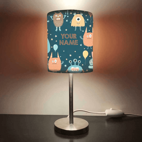 Personalized Kids Bedside Night Lamp-Monster