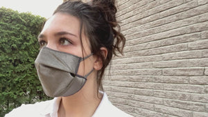 Dermagate Barrier mask model 5A / 99,9% Pure Silver fabric