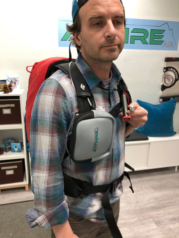aithre avipack oxygen with remote button on off regulator