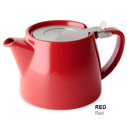 Forlife Infusion Teapot, Red