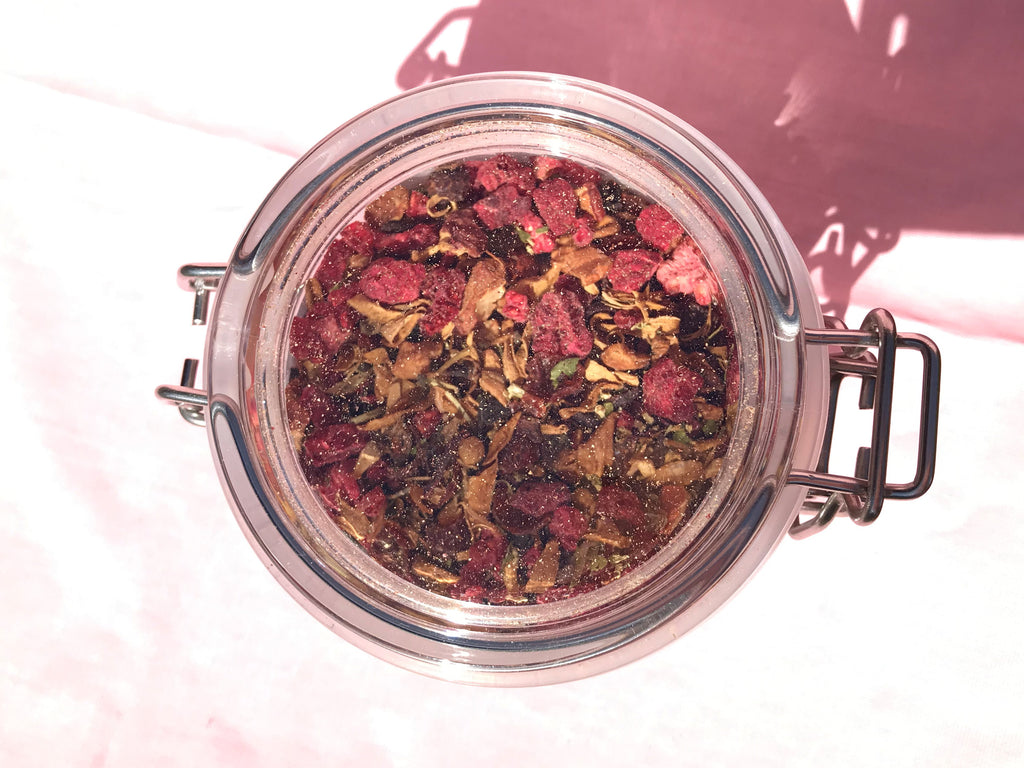 Raspberry & Elderflower Tea, Loose Tea Infusion 90g