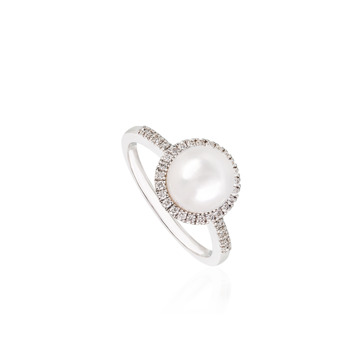 David Rosas Pearl Ring