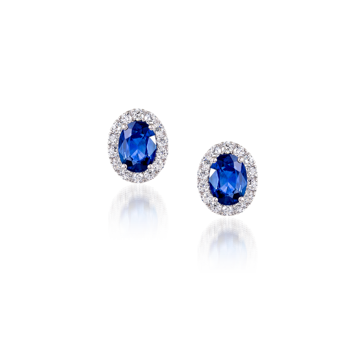 David Rosas Iris Earrings