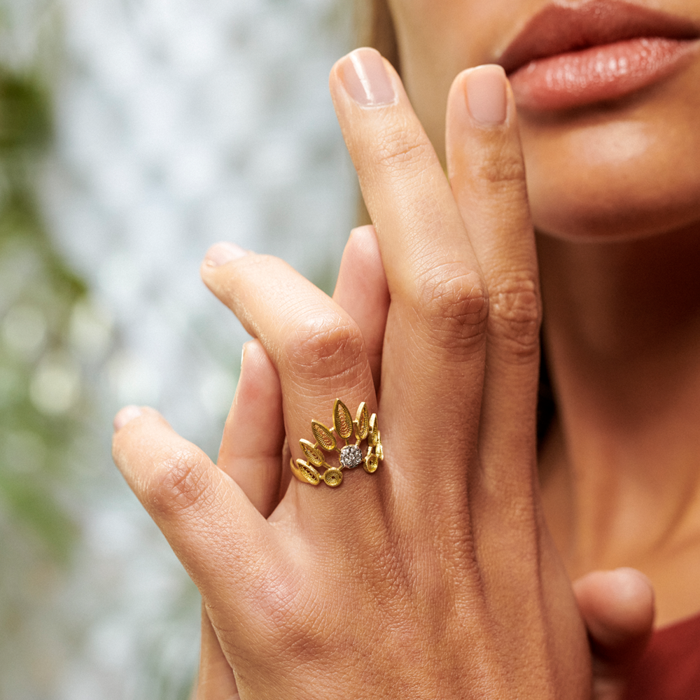 House Of Filigree Contemporary Ring