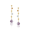 Marco Bicego Paradise Earrings Mixed Stones