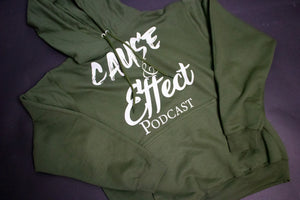 Cause & Effect Podcast (Flagship Hoodie)