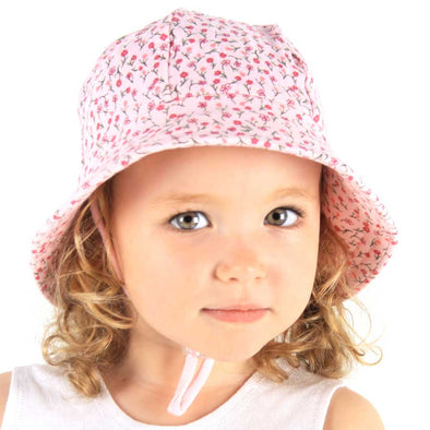 Cotton Bucket Hat - Penny (Only Size 1-3y left)