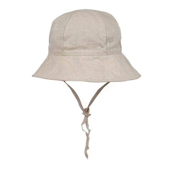 Linen Reversible Sun Hat - Heather/Flax Heritage Wanderer