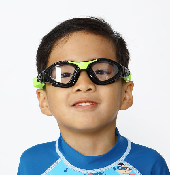 Kayenne Jr - Black Lime w Clear Lens