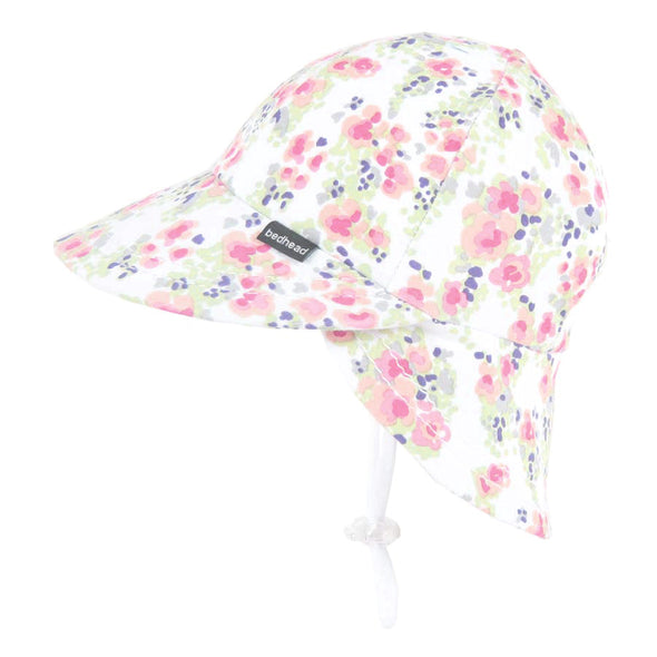 Cotton Legionnaires Cap - Elise (Only Size 0-3m left)