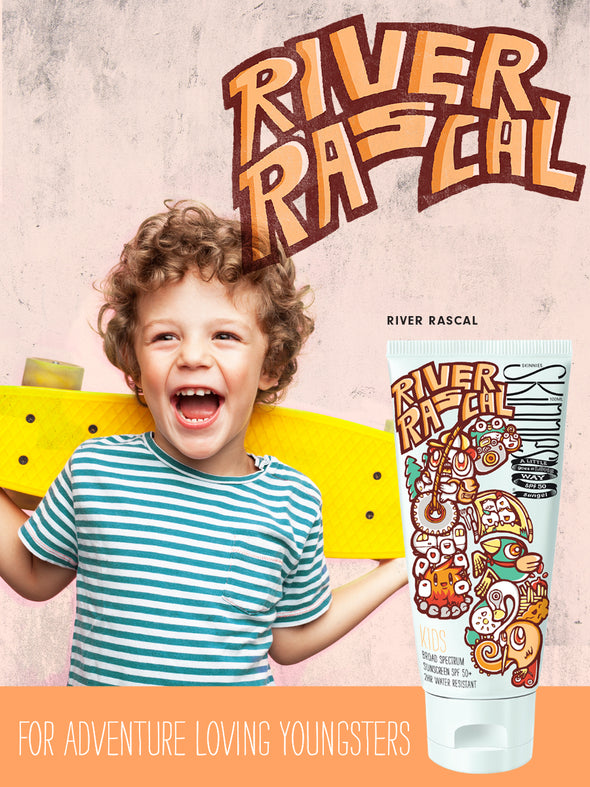 Skinnies Kids SPF50 Sungel - River Rascals (Limited Edition!)