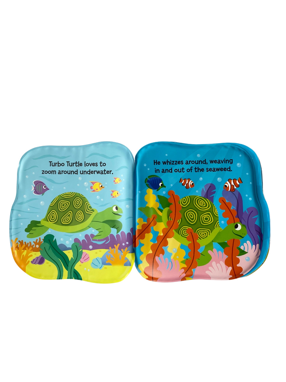 Bath Book - Turbo Turtle