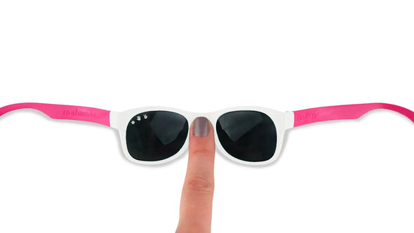 Polarised Ro.Sham.Bo - White/Fuschia