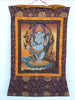 Blue Ganesh Thangka