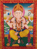 Ganesh Thangka Art