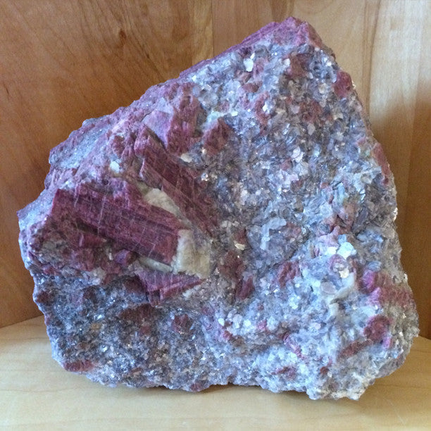 Pink Tourmaline Crystal from Brazil